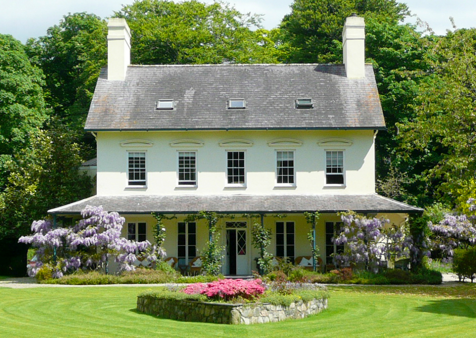 a glorious house one of the loveliest places to stay in wales outside six acres of beautiful gardens and the windswept beaches of the lleyn peninsula - Farmhouse Hotel 2015
