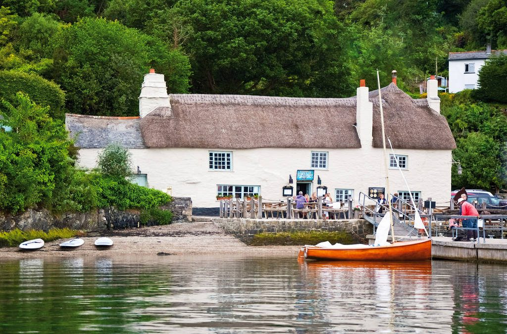 The Pandora Inn - Cornwall - Seafood pubs